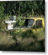 A Different Dump Truck Metal Print