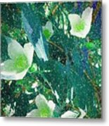 A Different Shade Of Blue Metal Print