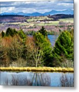 A Distant Jay Peak Metal Print