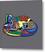 A Dog Named Picasso T-shirt Metal Print