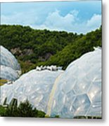 A Dome Away From Dome Metal Print