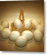 A Dozen Eggs II Metal Print