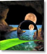 A Drop In The Ocean Metal Print