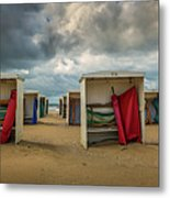A Dutch Summer At The Beach Metal Print