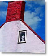 A Face At The Window Metal Print