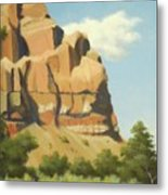 A Face In New Mexico Metal Print