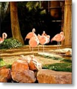 A Family Gathering Metal Print
