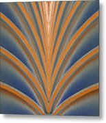 A Fan Of Art Deco Metal Print