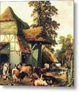 A Farm In Kent Metal Print