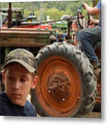 A Farmer's Son Metal Print