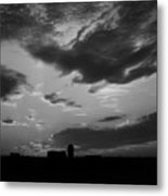 A Farmer's Sunrise Metal Print