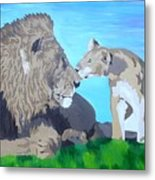 A Father's Pride Metal Print