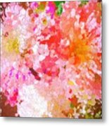 A February Abstract Metal Print