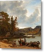 A Finnish Seascape Metal Print