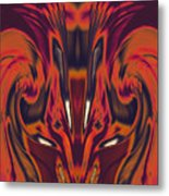 A Firebird Emerged From Your Equanimity 2015 Metal Print by James Warren