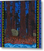 A Forest Whispers Metal Print