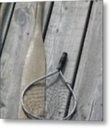 A Fisherman's Tools Metal Print