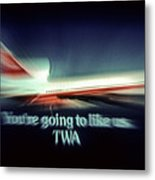 A Flight From The Past Metal Print