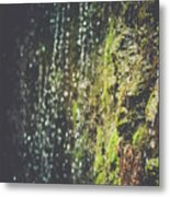 A Flowing Rock Metal Print