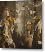 A Forest Overture Metal Print