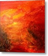 A Forest Metal Print