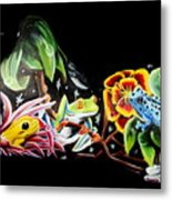 A Frogs Life Metal Print