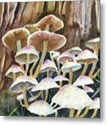 A Fungus Amongus Metal Print