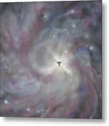 A Galaxy Centre Metal Print