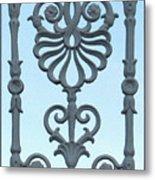A Gate On Indian Canyon Drive Metal Print
