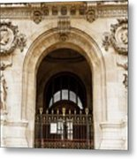 A Gate To The Opera  Metal Print
