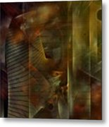 A Ghost In The Machine Metal Print