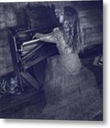 A Ghostly Tune Metal Print