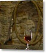 A Glass Of Woodford Metal Print