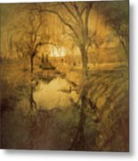 A Golden Winter 2 Metal Print