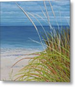 A Good Day For Beachcombing Metal Print