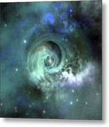 A Gorgeous Nebula In Outer Space Metal Print by Corey Ford