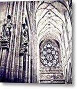 A Gothic Church Metal Print