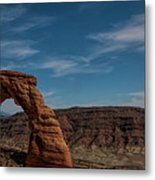 A Great Arch Metal Print