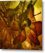 A Gust Of Gold Metal Print