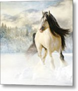 A Gypsy Winter Journey Metal Print