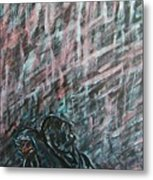 A Hard Rain Gonna Fall Metal Print