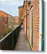 A High Walkway/alleyway Metal Print