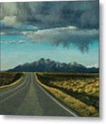 A Highway To The Rockies Metal Print
