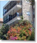 A Home In Rehavia 5 Metal Print