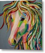 A Horse Of A Different Color Metal Print