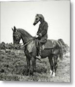 A Horse Ride Metal Print