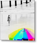 A Hot Summer Day Metal Print
