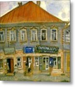 A House In Liozna Metal Print