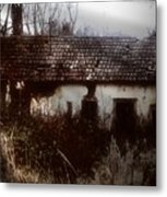 A House In The Woods Metal Print