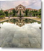 A House Within A Garden Metal Print by Mario Legaspi